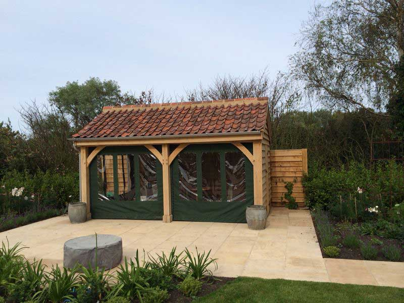 The oak building company about ml renovations ltd norfolk for Oak framed garden room