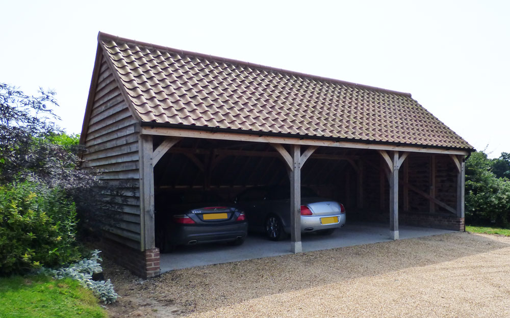 The oak building company about ml renovations ltd for 3 bay shed