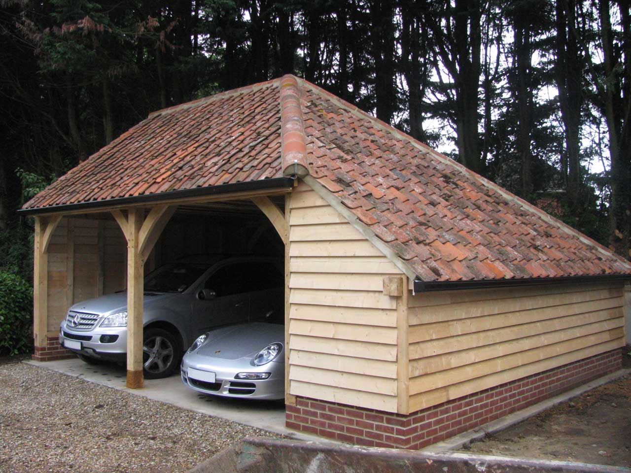 The Morston – 2 Bay With Side Storage