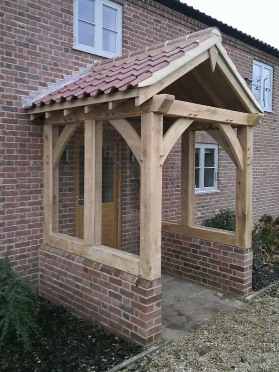 Oak Porch Bradfield