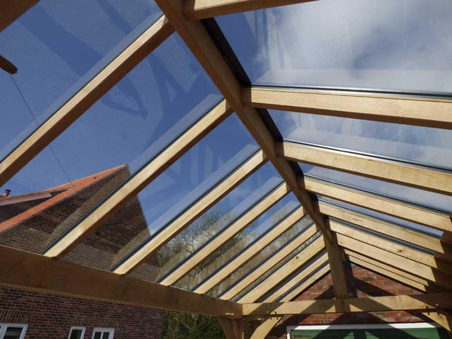 Oak Porch – Suffield Inside